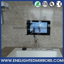 High end Bathroom luxury smart home mirror TV with various function