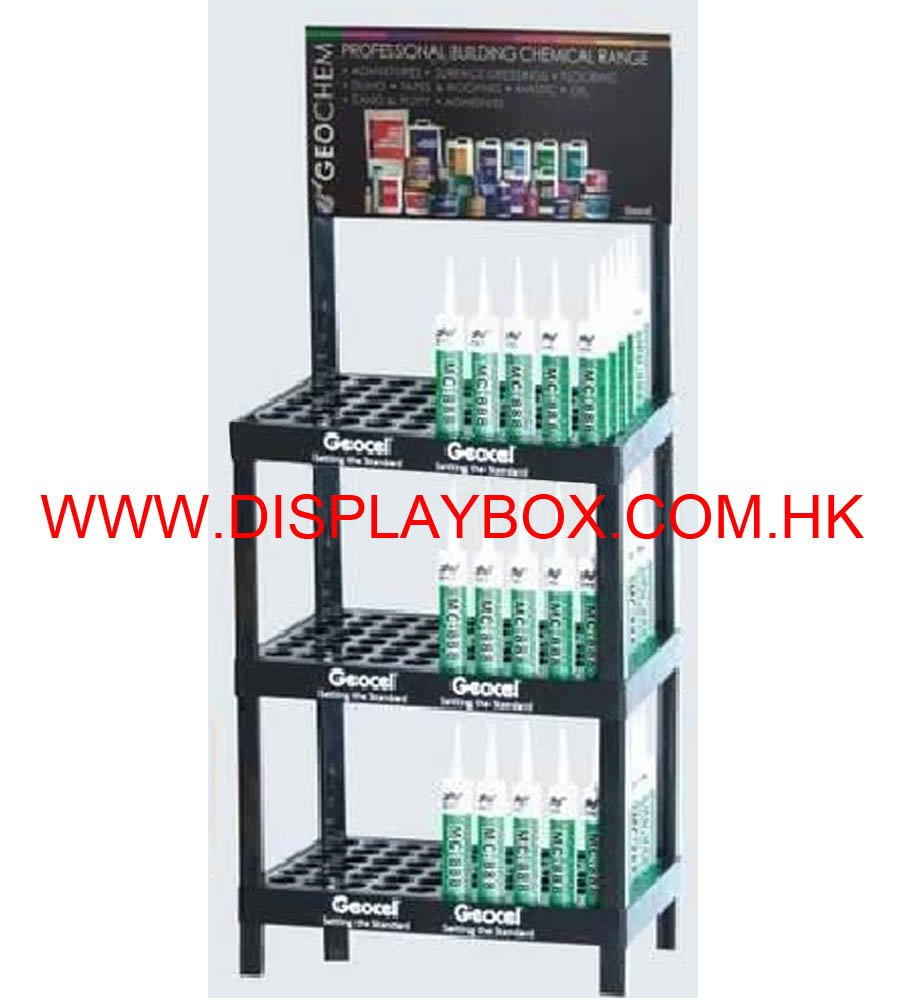 Metal Display Shlef for Lubricants