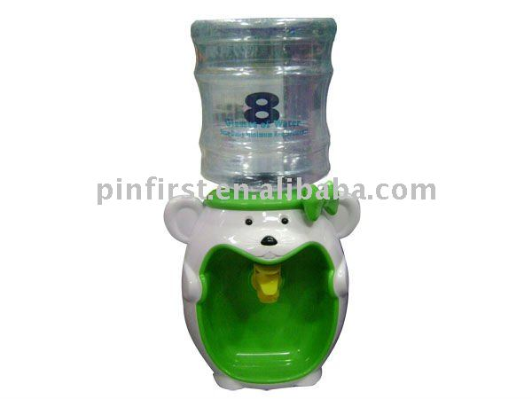 Mouse Cartoon Shaped Plastic Mini Desktop Cold Water Dispenser