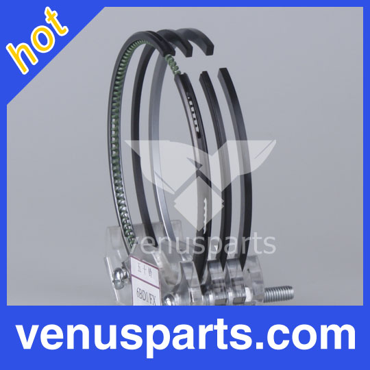 Truck engine parts for 4BD1T engine piston ring 102MM