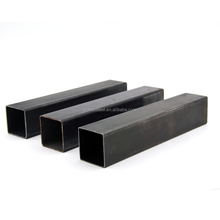 JAPANESE STANDARD SS400 OILED BLACK SQUARE STEEL PIPE/TUBE BUILDING MATERIAL WITH PLASTIC BAG