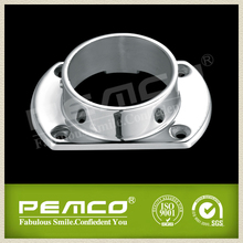 Handrail Fitting Welding stainless steel round pipe base plate