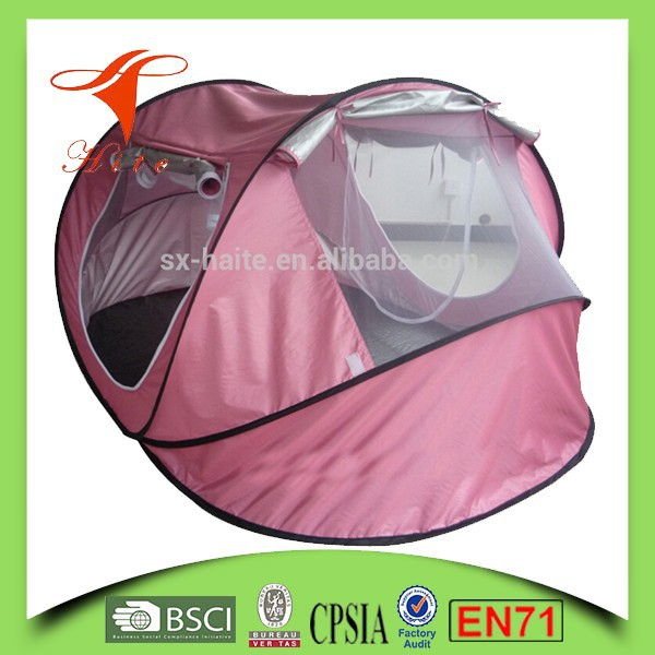 Wind resistant outdoor solar camping tent