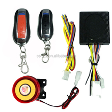 DC 12V Security System Remote Starter Motorcycle Anti-theft Alarm