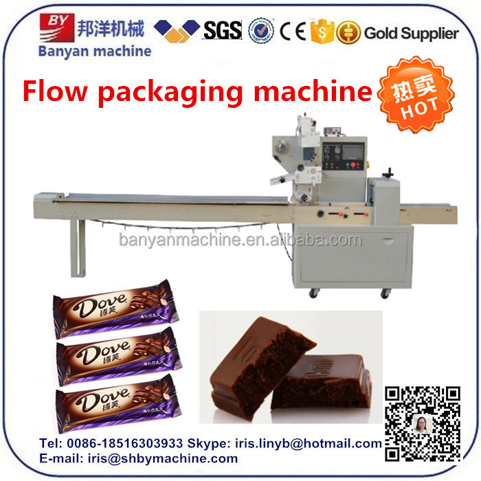 Pillow Automatic Bar Chocolate Wrapping/packing/packaging Machine