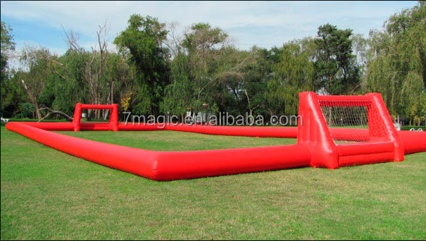 Cheap price inflatable soccer field / inflatable football arena / inflatable soccer pitch for sale