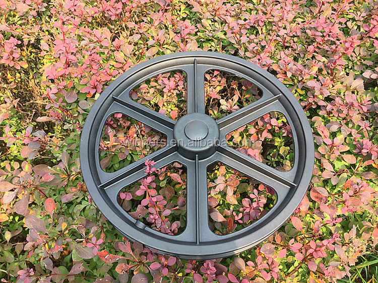 16 inch PU foam filled trailer nylon wheel