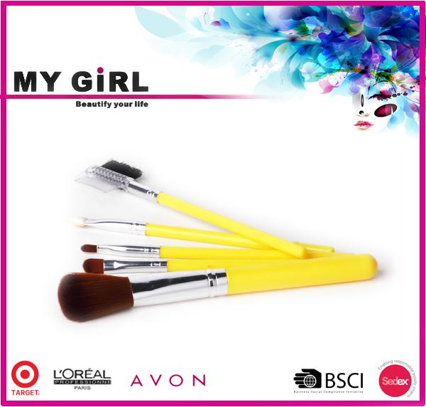 MY GIRL best makeup sets free sample new fashion gifts professional makeup brush roll