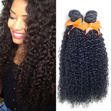 Usexy Hot Selling Wholesale Raw Virgin Peruvian Human Hair Weave Kinky Curly Hair Extension