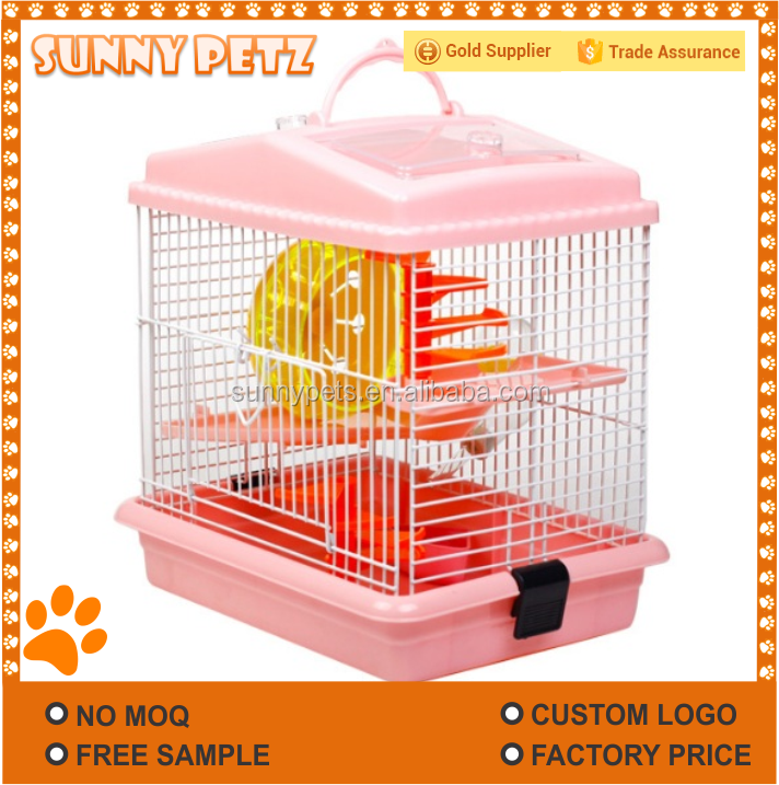 Luxury Double Layer Hamster Cage Nest For Pets