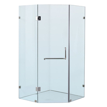 Frameless diamond shower enclousure without glass <strong>hardware</strong> only