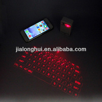 2014 New arrival! portable wireless virtual laser keyboard for iphone ipad laptop and andriod system mobile phone