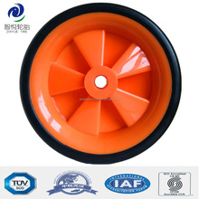 6 inch solid rubber wheel for air compressor