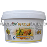 Master-Chu lemon filling fruit jam for cake filling with HALAL 5kg