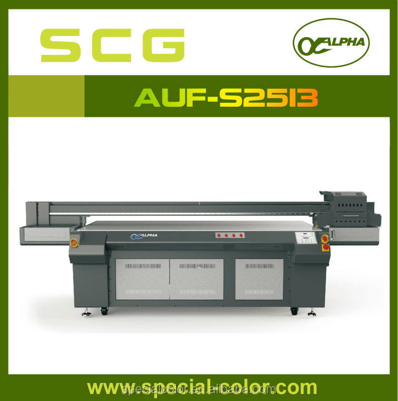 UV Flatbed direct to wall inkjet printer