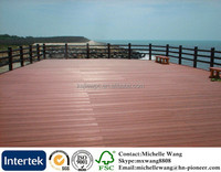 Factory Price Wood Plastic Composite Waterproof Outdoor deck flooring, outdoor deck floor covering, waterproof boat deck floor