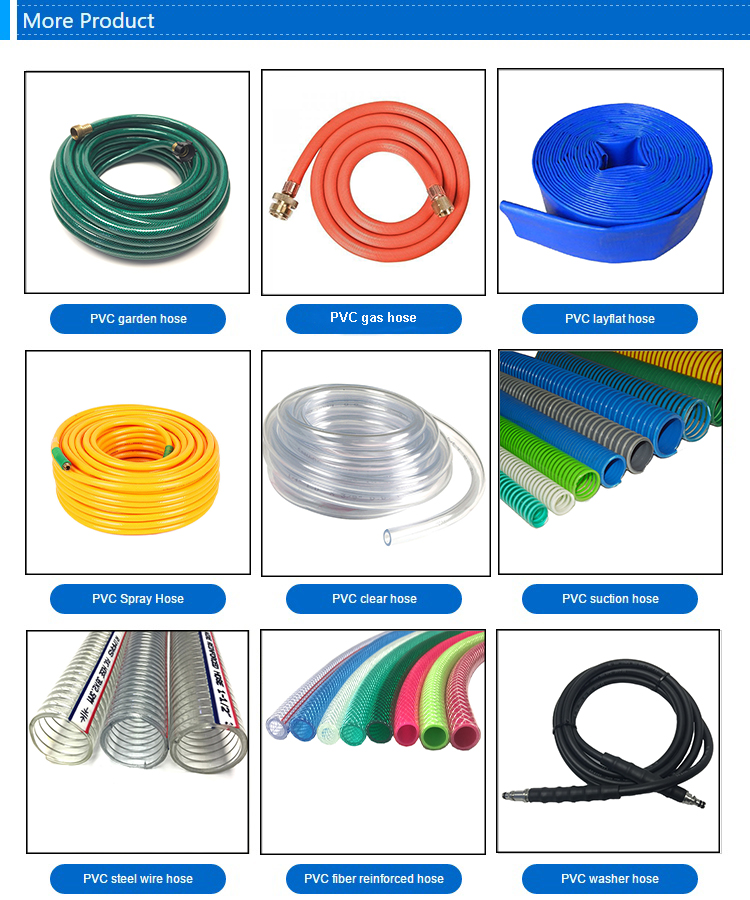 black water transfer tpu 2 4 layflat hose pipe suppliers price