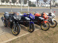 CE approved 150cc two wheel gasoline racing speed street motorcycle SY150-3