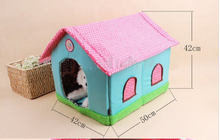 SMDH0002 factory price cheap Cute pet sleeping house sleeping dog and cat beds