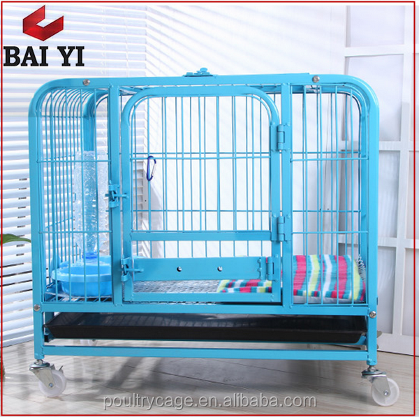 Low Price Aluminum Folding Double Dog Cage And XL Dog Crate