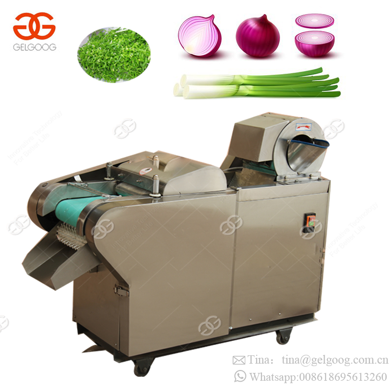 Multifunctional Automatic Vegetable Green Onion Cutter Equipment Chives Cutting Machinery Scallion Cutting Machine Price