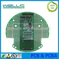 FR4 double sided copper clad laminate PCB board