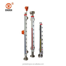 UHZ-99A side-mounted stainless steel magnetic led level meter