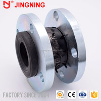 Immediately flexible rubber joint with ptfe liner high quality vulcanized expansion plumbing fittings floating flange