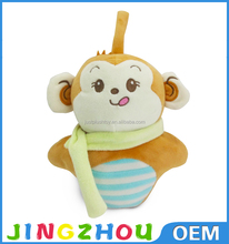 Stuffed Animal Plush Mini Real Doll with bag For Children