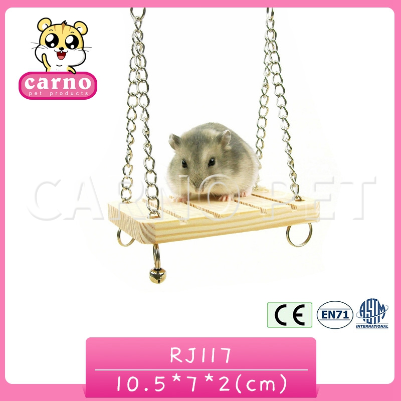 Cute Swing For Pet Hamster Gerbil Rat Mouse Chinchillas Squirrel Bird Parrot Budgie African grey Cage Exercise Toy Hammock Toy