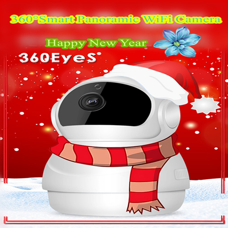 New Style Mini Snowman 2.0Megapixels Smart Home 1080P P2P WiFi IP Camera