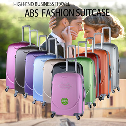 2016 New Arrival Fashion Style Promotional ABS Travelling Trolley Luggage