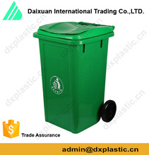 Plastic Medical Waste Bin Yellow Garbage Bin for Hospital
