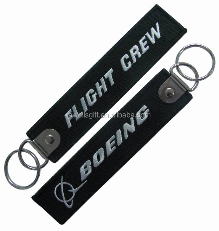 FLIGHT CREW BOEING KEYRING TAG F-14 BRAND NEW
