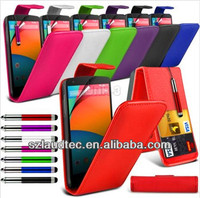 China Manufactory Alibaba Wholesale Leather Flip Case for LG Nexus 5