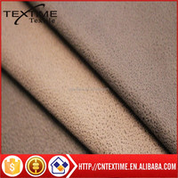 stretch suede for garment knitting suede fabric