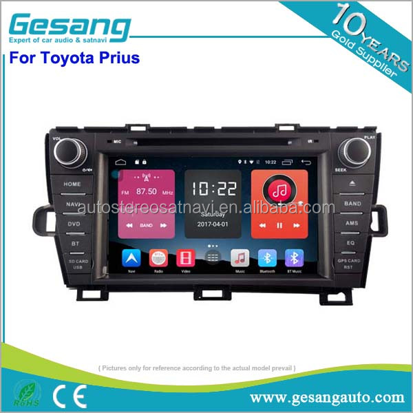 Newnavi car navigation android 6.0 car dvd gps support 4G sim card for Toyota Prius