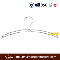 Assessed Supplier LINDON strong double wire metal coat hanger