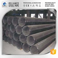 FACTORY ASTM A106 BLACK STEEL SEAMLESS PIPES SCH40 SCH80 ASTM A106