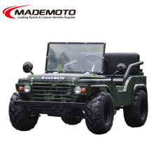 Mini size 110CC 125CC or 150CC gasoline petrol spring electric jeep willys for kids snow rover