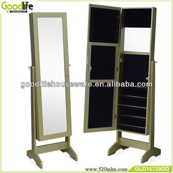 full length mirror jewelry cabinet with mirror