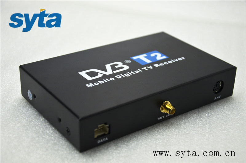 Newest Arrived Car DVB-T2 tv Receiver 100KM/H max speed Supports MPEG-1, MPEG-2, MPEG-4, H.264 decoder (up to 1920x1080P)