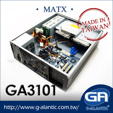 GA3101 - hot sale OEM micro ATX desktop computer chassis pc case