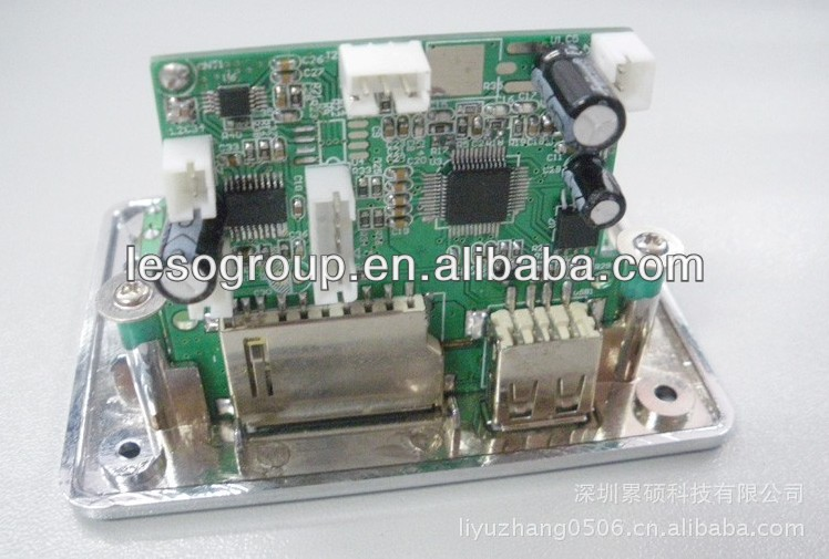 Assembly development board ,new design board for MP3/MP4 players