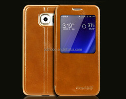 fashion genuine leather good design case for samsung galaxy s5 phones unlocked, for cell phone case samsung s6