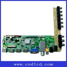Single/dual LVDS Electrical Driver Board With Imitation WINDOWS XP Interface OSD Humanization Operating Menu