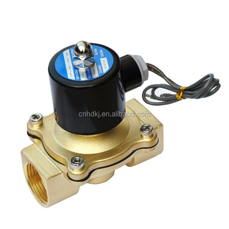 High Quality 2/2way Pilot Operated Direct Acting mini water solenoid valve