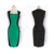 Modern designs sleeveless hip package lady party dresses