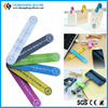 Multifunctional magnetic silicone cable clip, mobile phone holders
