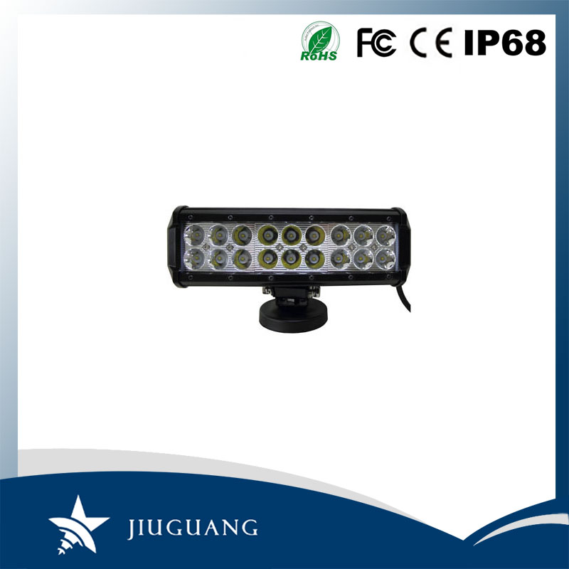 Popular Product Spot Flood Combo Beam IP67 54W 9 Inch Tow Truck LED Light Bar
